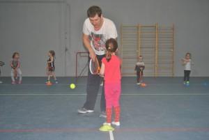 Детская группа 2016, возраст 3 - 5 лет, большой теннис